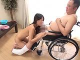 密着介護 車椅子SEX 通野未帆 【DUGA】
