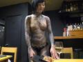 これは凄い!全身和彫の女 桜雅 凛のサムネイルエロ画像No.1
