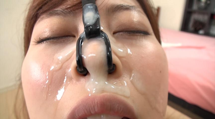強制鼻フック牝豚鼻ザーメン 画像 6