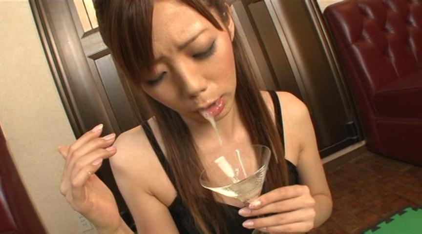 ザーメン乾杯! グラスで飲む精液ゴクゴク総集編 画像 9