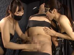 M男殺しの超絶淫語痴女テクニシャン青山梨果&源紗羅2