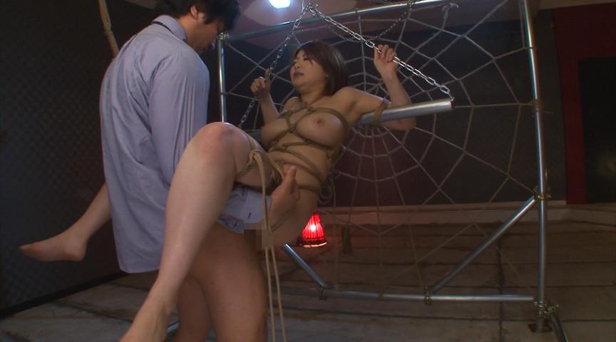 緊縛拘束宙吊り拷問 推川ゆうり 画像 1
