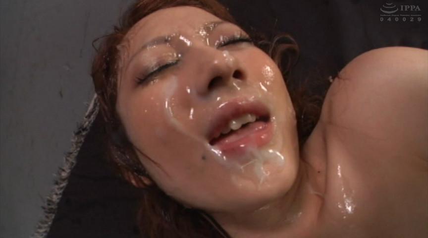 大量の精子を美顔にぶっかける快感射精!30人4時間