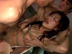 変態淫乱オンナの串刺し輪○FUCK20人4時間