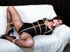 【倖田李梨動画】倖田李梨--囚われたレオタードの熟女--全篇-SM