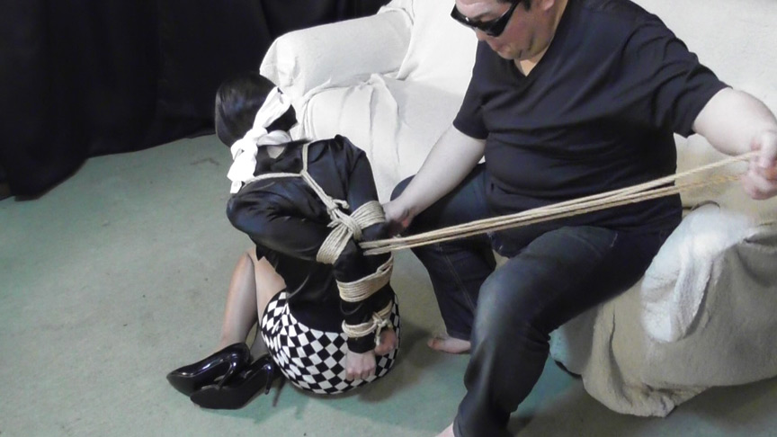 畠中奈美江 - 【緊縛資料】ボールタイの縛り方 - 全篇