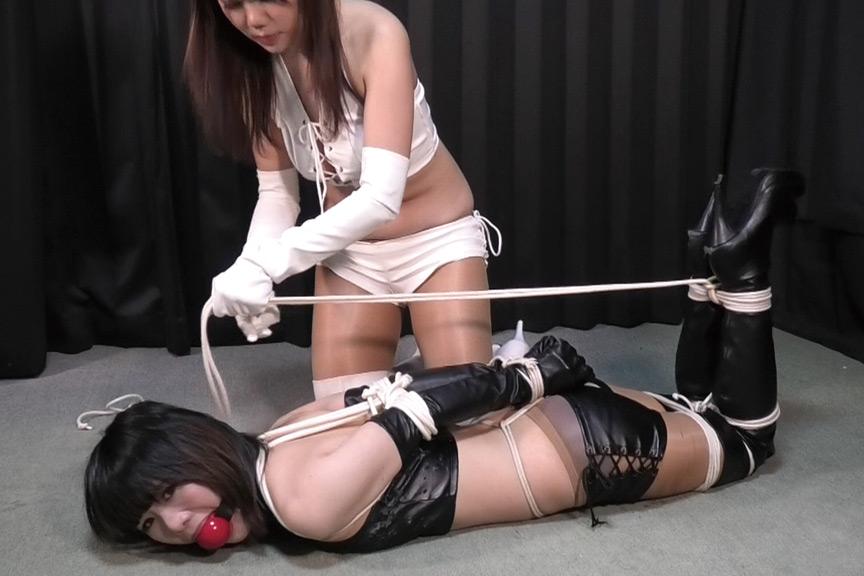 IdolLAB | reijyo2-0490 櫻乃春&日暮朱胡 - 二人の美女スパイ緊縛対決 - 全篇