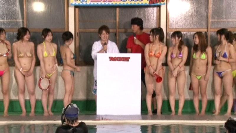 ロケットおっぱい20人 巨乳だらけの水泳大会2011