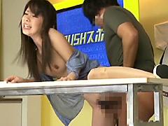 三隅京子クンニ動画|女子アナの穴に中出し