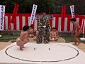 ガチンコ女相撲 野外エロエロ場所サムネイル2