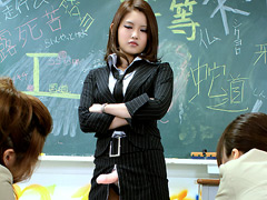 特命ペニバン女教師