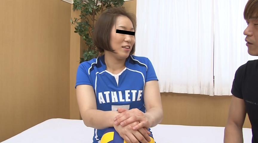 本物バレーボール選手 激震AVデビュー 里田千佳(仮名)のサンプル画像