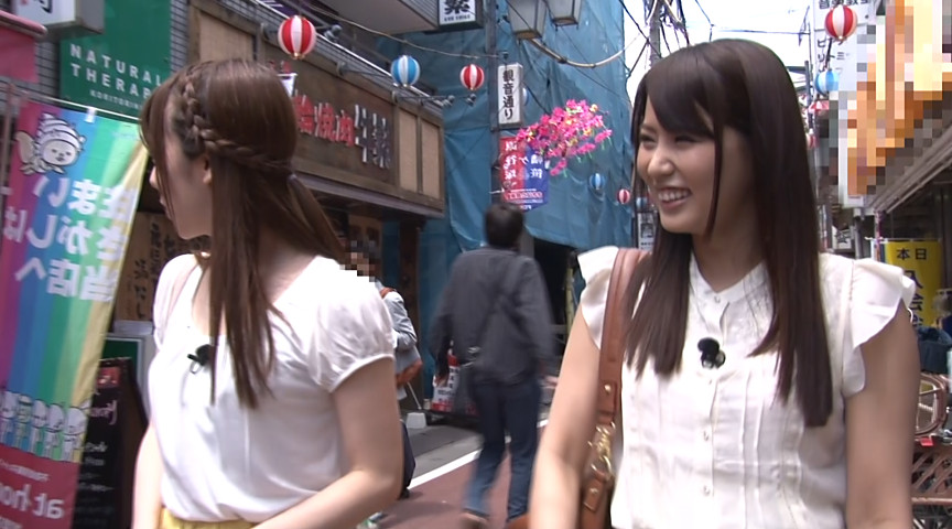 淫語女子アナ5 街角淫語突撃レポートのサンプル画像