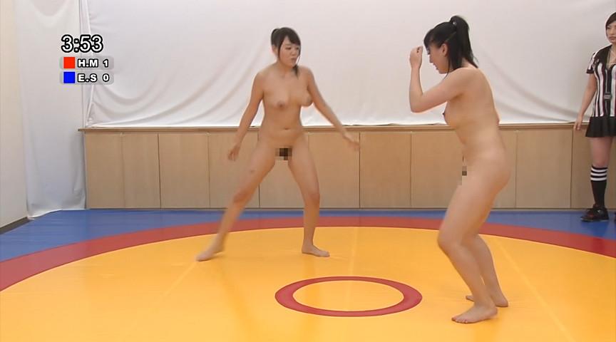 ガチンコ全裸女子レスリング2 53Kg級編