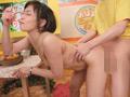 ザーメン食レポ女子アナのサムネイルエロ画像No.5