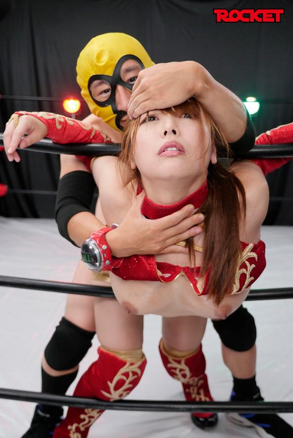 巨乳女子プロレスラー朱音の時間よ止まれ! 画像 1