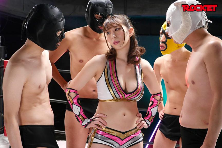 巨乳女子プロレスラー妃加璃 連姦中出しデスマッチ!! 画像 2