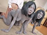 石化家族~隣の家の迷惑母娘まとめて石化せよ~ 【DUGA】