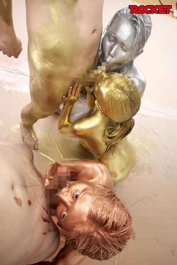 ウェット&メッシー(WAM)金銀銅粉スポーツテスト 画像 14
