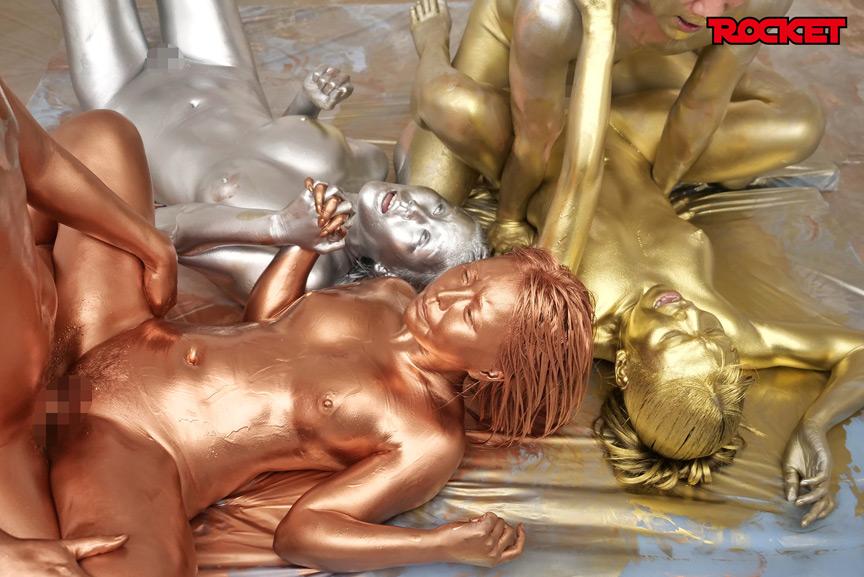 ウェット&メッシー(WAM)金銀銅粉スポーツテスト 画像 16