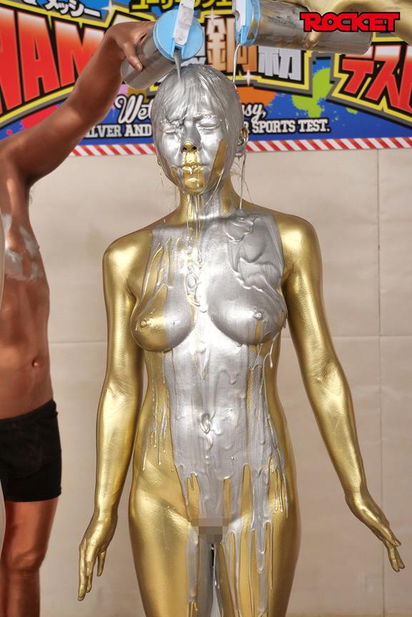 ウェット&メッシー(WAM)金銀銅粉スポーツテスト 画像 19