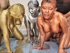 ウェット&メッシー(WAM)金銀銅粉スポーツテスト2