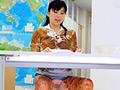 本物美人女子アナウンサーが脱糞実況ナマ中継!