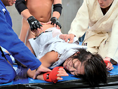本物! アジアNo.1女格闘家 人生初のナマ中出しレイプ