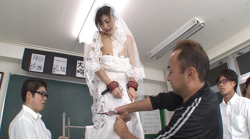 結婚直前で生徒たちの肉便器にされた女教師 神波多一花