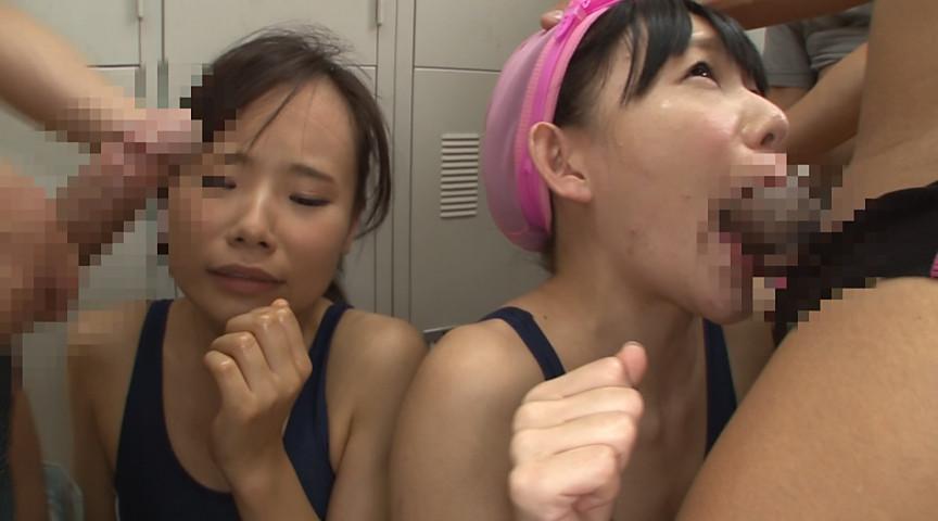 ●学生のスクール水着が水に溶けて10人全員素っ裸!! 画像 25