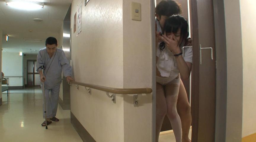 夜勤病棟レイプ 本当は待っていたんじゃないの?夜中一人で働く看護師をトイレでこっそりレイプ 7枚目