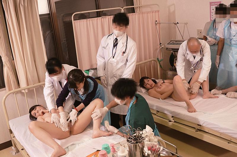 羞恥 生徒同士が男女とも全裸献体になって実技指導2018のサンプル画像