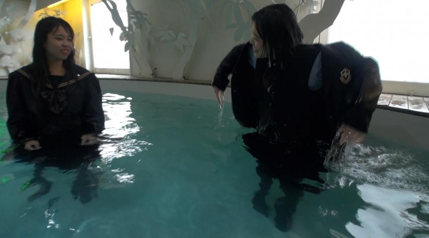 IdolLAB | sandw-0115 真冬の落水練習