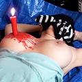 【動画】身体に罰を与え続ける少女からの投稿映像