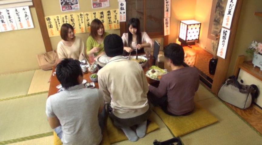 新入女子大生が新歓コンパで初めての飲酒!のサンプル画像
