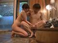 純粋姉弟が挑戦!混浴温泉で弟とラッコ座りで密着