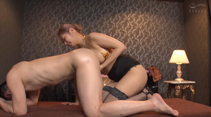 激しく腰を振る美乳淫乱痴女エステティシャン 画像 2