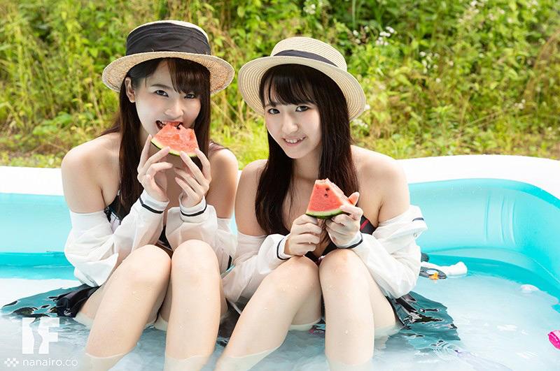 田舎の夏はヤル事しかない! 枢木あおい/河奈亜依 画像 3