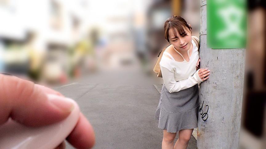 素人美少女とリモコンバイブお散歩 2 ーNK区編ーのサンプル画像