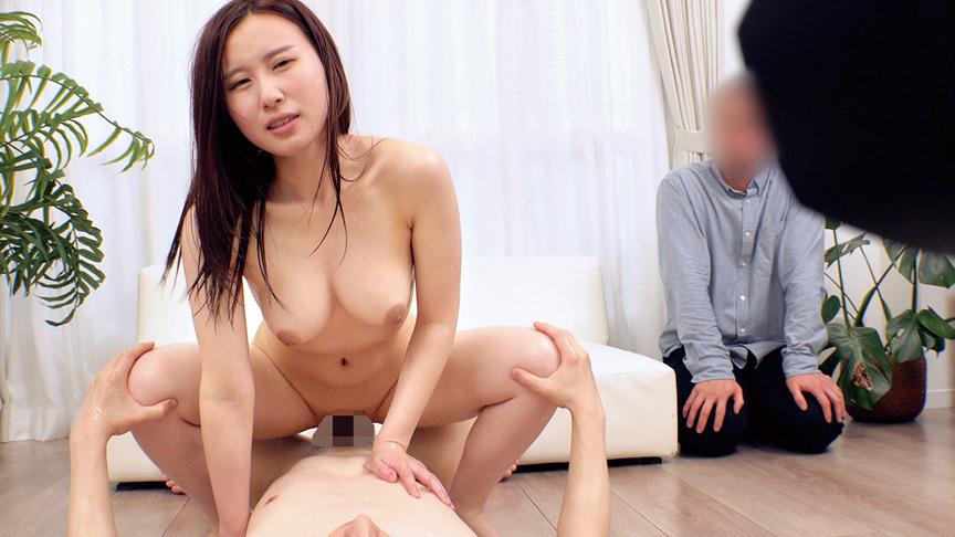 絶倫チ○ポ男と素肌密着偽撮影会で寝取られ検証!! 画像17