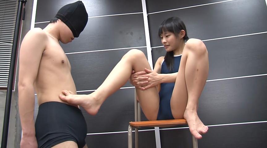 スク水萌え脚コキ 画像 3