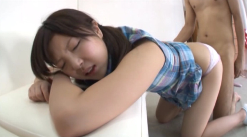 女子校生の綿パン尻コキ 画像 15