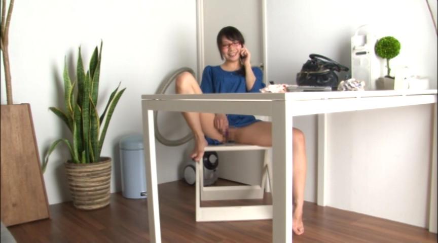 テレフォンオナニー ガチ電話中の生オナニーのサンプル画像