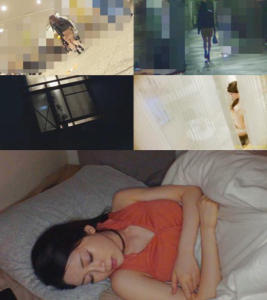 《過激》【電車チカン】【自宅盗撮】【睡眠姦】ニットワンピ極上OL #4 4枚目