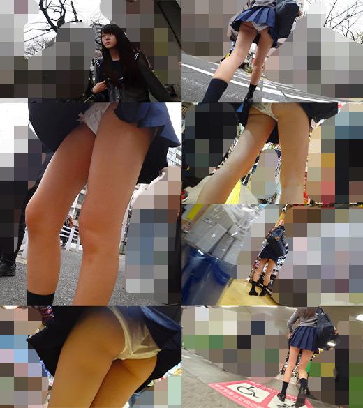 0001 - 【盗撮動画】美少女のパンチラから自宅内侵入!痴漢盗撮師の手口