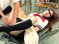 産婦人科診療で性器をイタズラされる中●生盗撮2