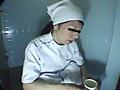 給食センターで働くおばちゃんの尿検査用採取盗撮6