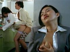 人妻社長秘書 バイブで濡れる