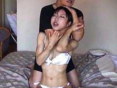 美人柔道選手 絞め技&窒息修行
