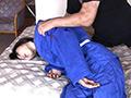 美人柔道選手 絞め技&窒息修行-1